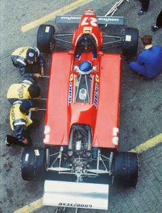 Patrick Tambay Ferrari 126C2 1982