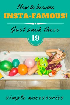 Are you dreaming of being Insta-famous? It's easy! Just pack these 19 simple accessories for your next trip and you'll be racking up the follows in no time! via @wanderingwheatleys