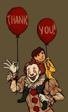 There the best of friend those two. Georgie 🚢 and Pennywise 🎈