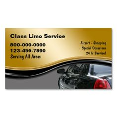 Taxi Business Cards. Make your own business card with this great design. All you need is to add your info to this template. Click the image to try it out!
