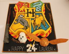 Harry Potter cake by Pauls Creative Cakes. Harry Potter Theme Cake, Harry Potter Treats, Harry Potter Thema, Harry Potter Birthday Cake, Mundo Harry Potter, Harry Potter Cakes, Sculpted Cakes, Creative Cakes, Creative Birthday Cakes