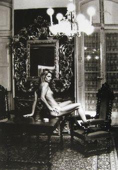 Charlotte Rampling - foto Helmut Newton