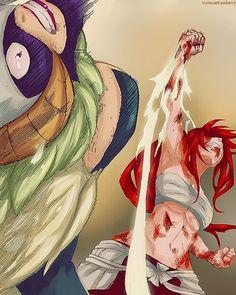 Fairy Tail Erza vs. Kyouka