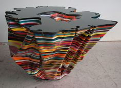 Mark Linnenbrink                                 epoxy resin, pigments