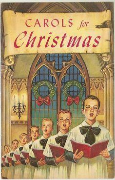 Vintage Carols for Christmas booklet.