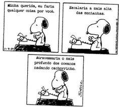 Snoopy   Carta para namorada ^^