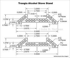 Trangia Burner Pot Support & Stabilizer by Survival Resources' John McCann