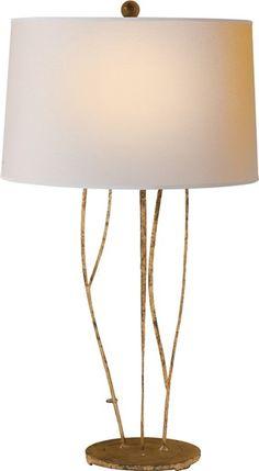 Visual Comfort Table Lamp, Contemporary Table Lamp, Aspen Table Lamp