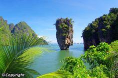 Phang Nga by speed boat + Canoe - Daytrip by Speedboat & Sea Kayak in Phang Nga Bay