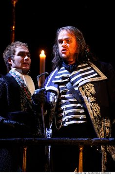 Bryn Terfel as Scarpia in the production of Tosca at The Royal Opera House, Covent Garden.   Embroidery: www.sjolanderembroidery.com