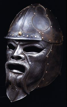 Mongol helmet and face armour