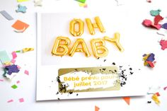 Carte à gratter annonce grossesse OH BABY par annoncegrossesse Jolie Photo, Pregnancy, Etsy, Handmade Gifts, Cards, Kid, Pregnancy Planning Resources, Conceiving