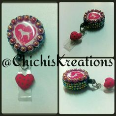 VS Badge reel Available at www.etsy.com/shop/chichiskreations