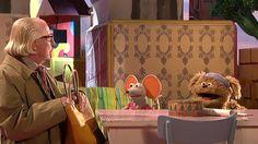19) Tommie en Ieniemienie komen bij Aart op bezoek om héél eventjes te kletsen.
