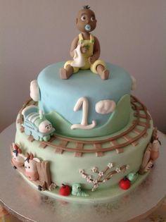 cake design. Thème train