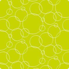 Grass circus ... fundo verde lima, cheio de luz. circulos brancos como bolas de sabão -leves  Tecido impermeável/sem brilho/largura 140cm 10 € / m