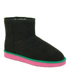Loving this Black Oakley Short Slipper Boot on #zulily! #zulilyfinds
