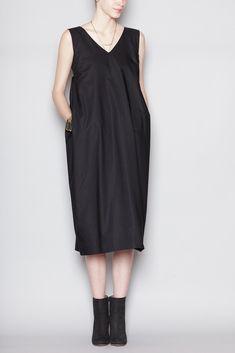 Jil Sander Naviglio Dress (Black)