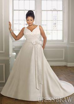 This is it!!!  http://www.trendget.com/unique-aline-vneck-floorlength-satin-white-wedding-dresses-2012-p-120742.html     <----found here!