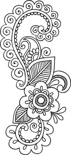 Grand Sewing Embroidery Designs At Home Ideas. Beauteous Finished Sewing Embroidery Designs At Home Ideas. Mandala Art, Mandala Drawing, Drawing Flowers, Embroidery Stitches, Embroidery Patterns, Hand Embroidery, Henna Patterns, Zentangle Patterns, Henna Drawings