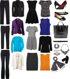 """Road Warrior Capsule Wardrobe"" by wardrobeoxygen ❤ liked on Polyvore"