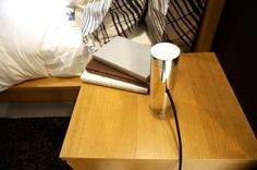 Lux Lamp A luxury LED reading lamp and night light that doesn't negatively affect the product of melatonin - the hormone to help us sleep.