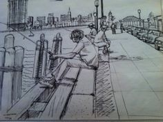 Drawing by Ephraim Natkins