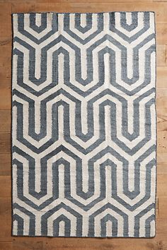 Puzzle Path Rug #anthropologie