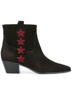 SAINT LAURENT Rock 40 Ankle Boots. #saintlaurent #shoes #boots