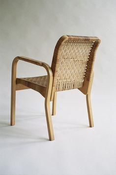 Alvar Aalto Caned Armchair 45