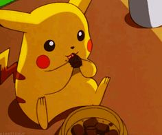 i just cannot get over how cute pikachu is.