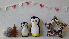 Me&My Mama penguin by itsMeandMy on Etsy, £10.00