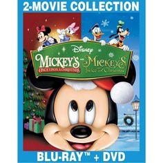 Mickey's Once Upon a Christmas/Mickey's Twice Upon a Christmas [Blu-ray]