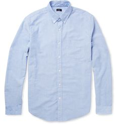 J.Crew - Button-Down Collar Cotton Oxford Shirt - $85