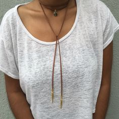 A personal favorite from my Etsy shop https://www.etsy.com/listing/385380684/july-wrap-necklace-vegan-faux-suede