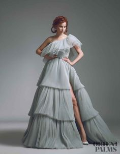 Style Couture, Couture Mode, Couture Fashion, Fashion Show, Couture Dresses, Fashion Dresses, Tulle Dress, Dress Up, Pastel Gown