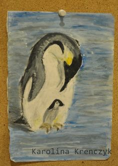 this one is soooo old! #pastels #penguin #animals