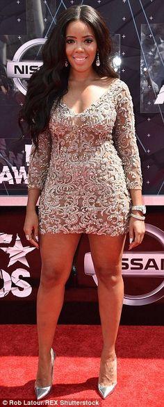Nicki Minaj, Christina Milian and Laverne Cox wow on BET Awards 2015 red carpet | Daily Mail Online