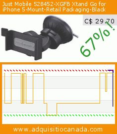 Just Mobile 528452-XGFB Xtand Go for iPhone 5-Mount-Retail Packaging-Black (Wireless Phone Accessory). Drop 67%! Current price C$ 29.70, the previous price was C$ 90.36. http://www.adquisitiocanada.com/sony/xperia-ion-lt28i-black