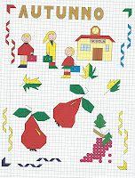 Giochi e colori !: CORNICETTE : LE STAGIONI (Copia il modello e riproduci le cornicette e i disegni legati alle stagioni) Blackwork, Zentangle, Doodles, Kids Rugs, Stitch, Learning, Holiday Decor, Colouring, Drawings