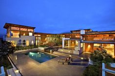 Rancho Santa Fe Home by Safdie Rabines   Awesome Architecture