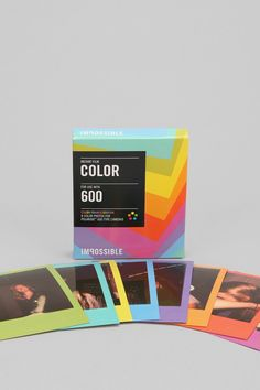 Finally!! Some poloroid film:)    PX 680 Color Shade Instant Film By Impossible Project