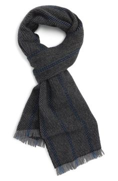 57f223970e5 Andrew Stewart Stripe Cashmere Scarf available at  Nordstrom