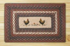 "Capitol Importing 67-040CC Country Chicks - 20 in. x 30 in. Rectangle Patch by Capitol Importing Company. $24.95. Country Chicks.. Many designs available match your personal style.. High quality components.. Shape: Rectangle Patch Braided Rug.. Size: 20 x 30.. Shape: Rectangle Patch Braided Rug. Country Chicks. Size: 20"" x 30"". Many designs available match your personal style. High quality components."