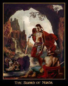 Celtic Art: Celtic Mythology; The Realistic Celtic Art work and illustrations of Celtic myth & legend by Howard David Johnson
