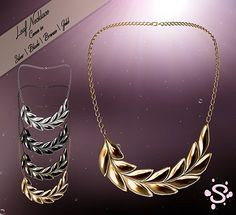 Simple - Leaf Necklace GIFT FOR YOUR SUPPORT