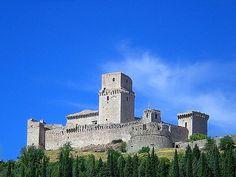 Rocca Maggiore ad Assisi, Italy