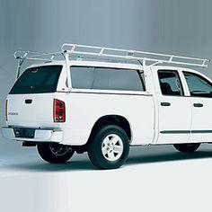 Hauler Aluminum Pickup Truck Cap, Camper Shell, Topper Ladder Utility Racks