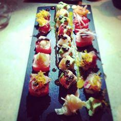 #Sushi heaven at Sushisamba London