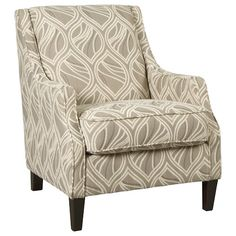 Benchcraft Mauricio Contemporary Accent Chair with Track Arms